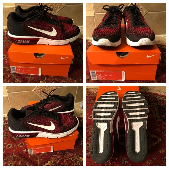 9ae461cda1 Nike Shoes | Air Max Sequent 2 Size 12worn Once | Poshmark